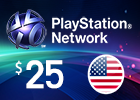 PlayStation Network - $25 PSN Card (United States Store)