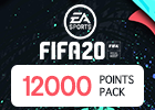 FIFA 20 Ultimate 12000 Points Pack(Saudi Store)