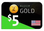 Razer Gold - $5 (US Store)