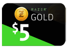 Razer Gold - $5 (Global).