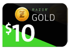 Razer Gold - $10 (Global).