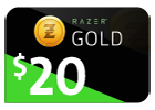 Razer Gold - $20 (Global).