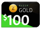 Razer Gold - $100 (Global).