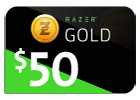 Razer Gold - $50 (Global).