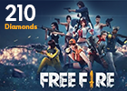 Free Fire 210 Diamonds