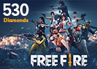Free Fire 530 Diamonds