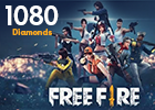 Free Fire 1080 Diamonds