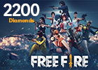 Free Fire 2200 Diamonds