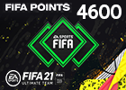 FIFA 21 4600 Points Pack (Saudi Store)