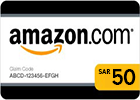 Amazon (KSA) Gift Card - SAR 50