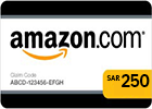 Amazon (KSA) Gift Card - SAR 250