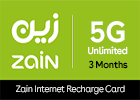Zain 5G Unlimited - 3 Months