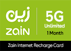Zain 5G Unlimited - 1 Month