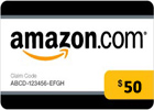 Amazon (US) Gift Card - USD 50